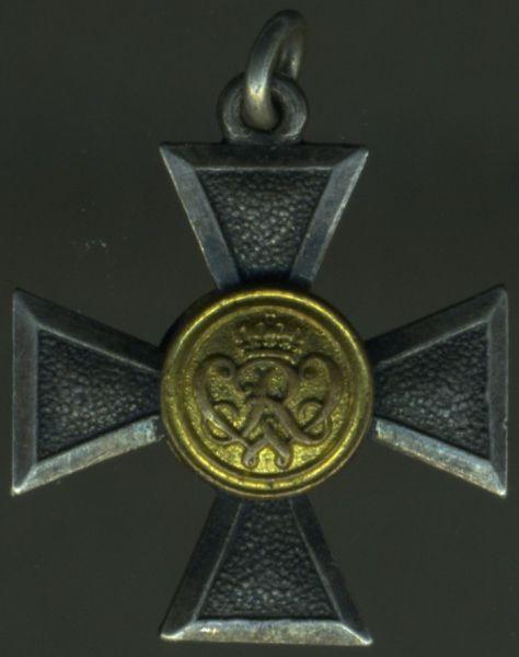 Miniatur - Preußen, Landwehr-Dienstauszeichnung 1. Klasse