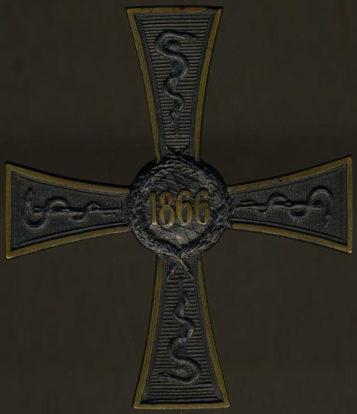 Bayern, Erinnerungszeichen für Zivilärzte 1866