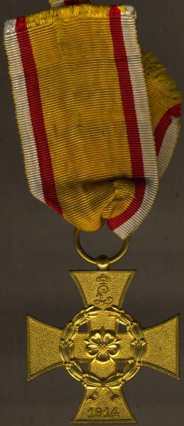 Lippe-Detmold, Kriegsverdienstkreuz (am Bande)