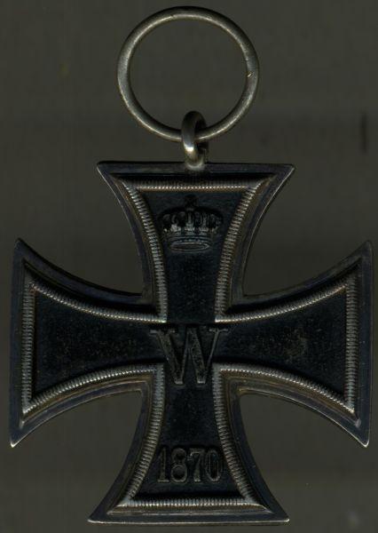 Eisernes Kreuz 2. Klasse 1870