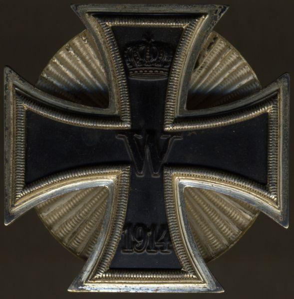 Eisernes Kreuz 1. Klasse 1914 - Wilhelm Deumer / Lüdenscheid - Schraubscheibe