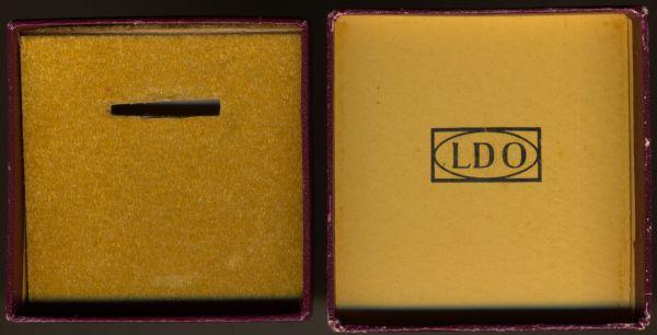"""LDO-Schachtel zur Miniatur eines Mutterkreuzes - """"L/10"""""""
