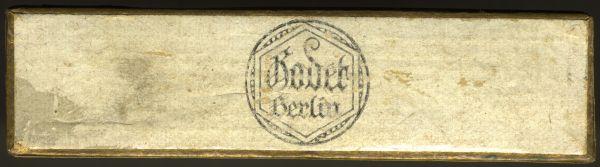 Schachtel für Miniaturdekorationen - Godet / Berlin