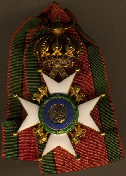 Sächsische Herzogtümer, Ernestinischer Hausorden Ritterkreuz 1. Klasse