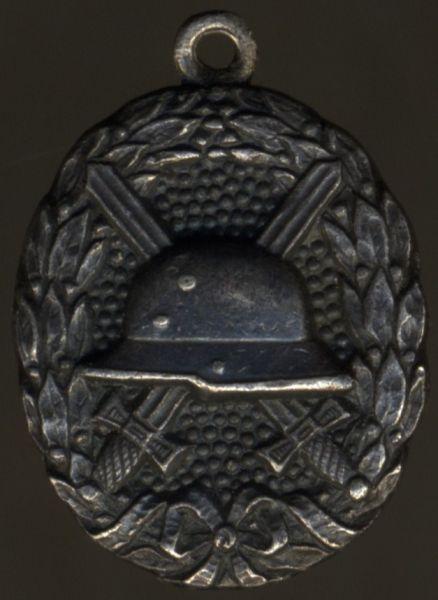 """Miniatur - Verwundetenabzeichen 1918 - """"GODET"""" (!)"""