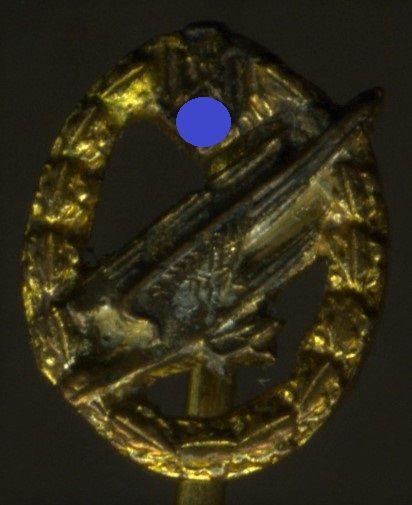 Miniatur - Fallschirmschützenabzeichen des Heeres