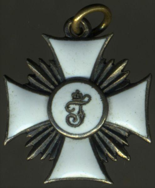 Miniatur - Württemberg, Friedrichsorden Ritterkreuz 1. Klasse
