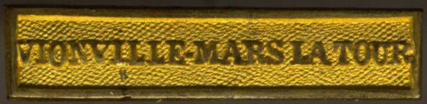 """Preußen, Gefechtsspange """"VIONVILLE-MARS LA TOUR"""" zur Kriegsdenkmünze 1870/7"""