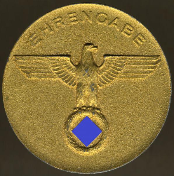Ehrengabe der Stadt Neuss in Gold mit Etui (3. Reich)