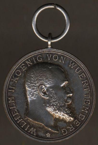 """Württemberg,Silberne Militär-Verdienstmedaille / """"Tapferkeitsmedaille"""""""