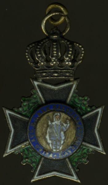 Miniatur - Sachsen, Militär St. Heinrichs-Orden