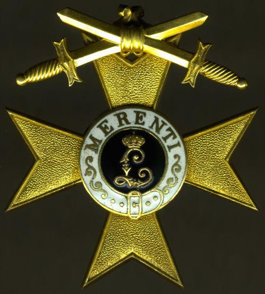 Bayern, Militär-Verdienstkreuz 1. Klasse mit Schwertern - Jacob Leser / Straubing