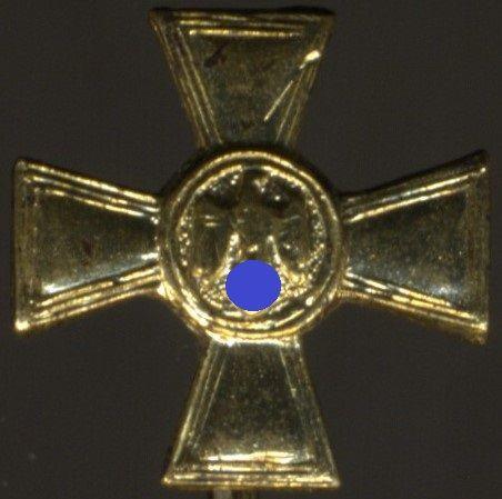 Miniatur - Wehrmacht-Dienstauszeichnung 25 Jahre