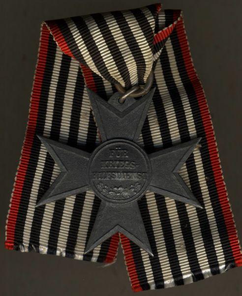 Preußen, Verdienstkreuz für Kriegshilfsdienst