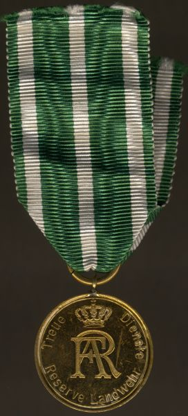 Sachsen, Landwehr-Dienstauszeichnung 2. Klasse