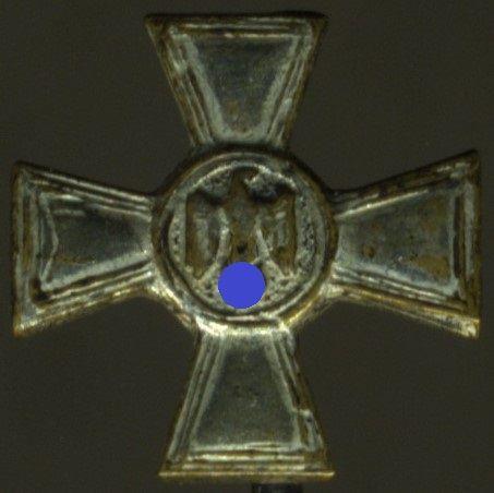 Miniatur - Wehrmacht-Dienstauszeichnung 18 Jahre