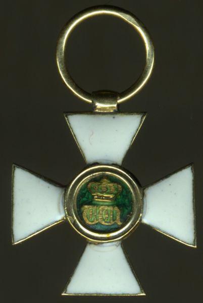 Miniatur - Luxemburg, Orden der Eichenkrone