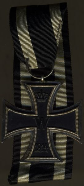 Eisernes Kreuz 2. Klasse 1914 - 31 cm Band (!)