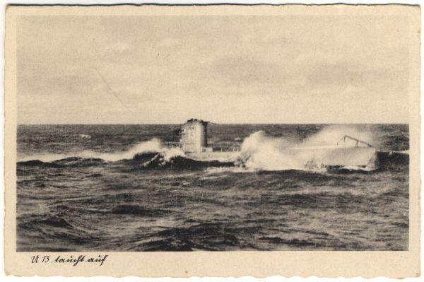 Feldpostkarte Kriegsmarine 1942