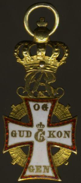 Miniatur - Dänemark, Dannebrog-Orden
