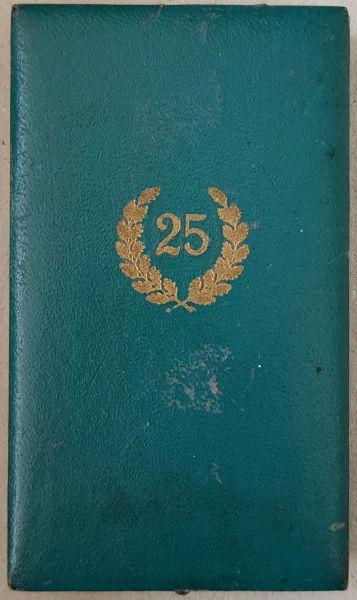 Etui zur Polizei-Dienstauszeichnung 25 Jahre