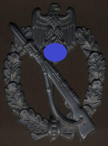 Infanterie-Sturmabzeichen in Silber - Frank & Reif / Stuttgart