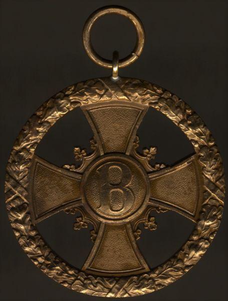 Sachsen-Meiningen, Kreuz / Medaille für Verdienst im Kriege