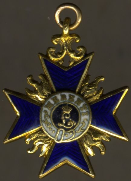 Miniatur - Bayern, Militär-Verdienstorden 3. Klasse / Ritterkreuz 1. Klasse