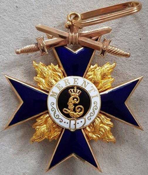 Bayern, Militär-Verdienstorden 2. Klasse mit Schwertern - Gebr. Hemmerle / München