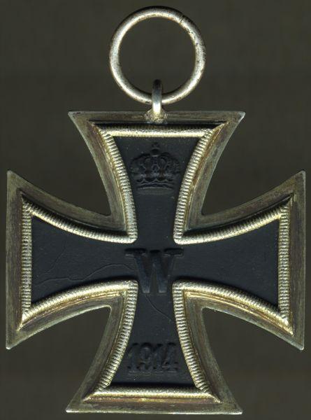 Eisernes Kreuz 2. Klasse 1914 - Paul Meybauer / Berlin - 3. Reich (!)