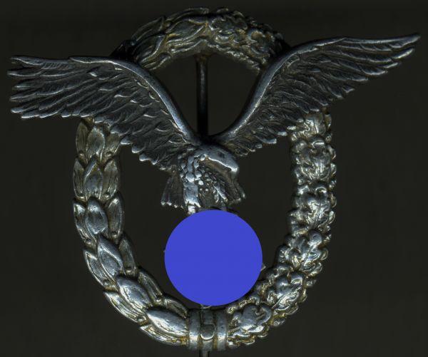 Flugzeugführerabzeichen - C.E. Juncker / Berlin - Alu Typ 2 (!)