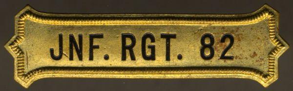 Regimentskreuz-Spange des 2. Kurhessischen-Infanterie-Regiments Nr. 82
