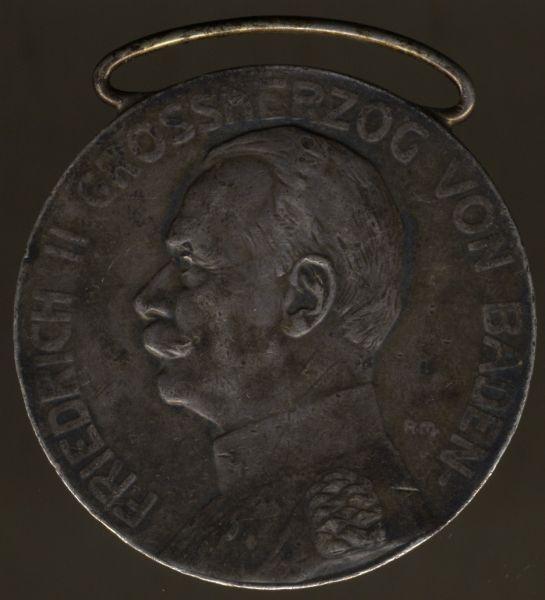 Baden, Silberne Verdienstmedaille (Friedrich II.)