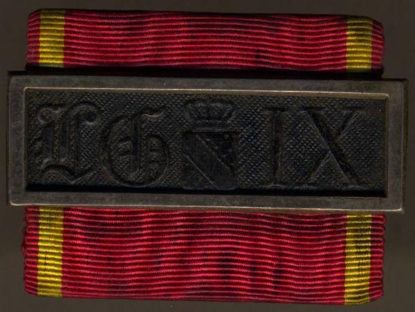 Baden, Dienstauszeichnung 3. Klasse (2. Modell)