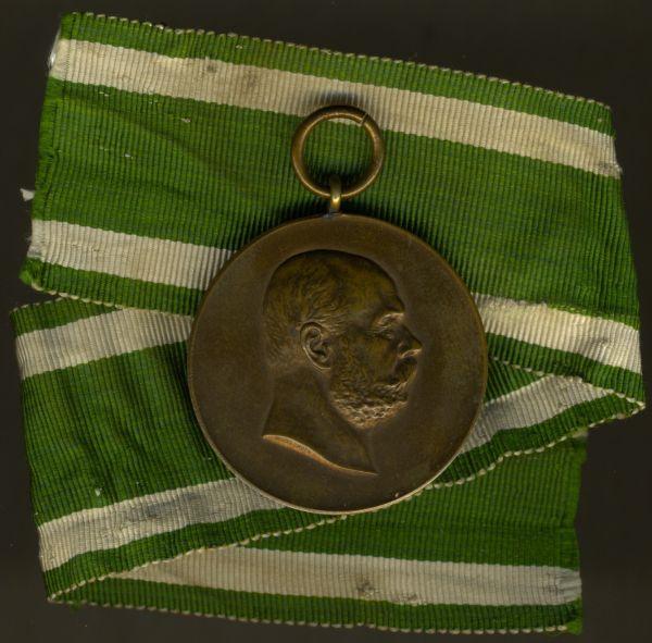 Sachsen-Altenburg, Medaille zum 50. Regierungsjubiläum 1903 in Bronze