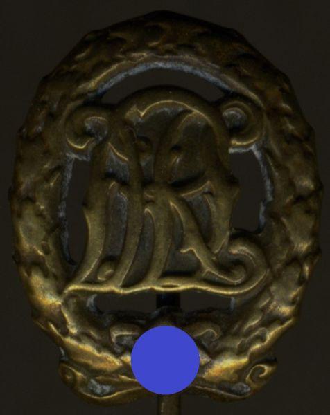 Miniatur - Reichssportabzeichen in Bronze - Hermann Wernstein / Jena