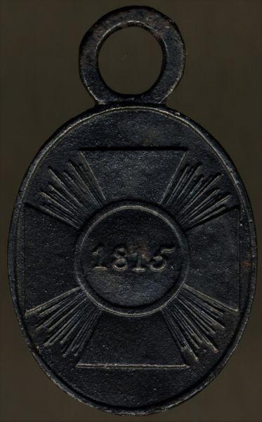 Preußen, Kriegsdenkmünze 1815 für Nichtkämpfer