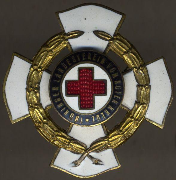 Thüringen, Ehrenzeichen des Landesvereins vom Roten Kreuz 3. Stufe (40 Jahre)