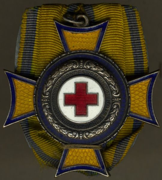 Einzelordensschnalle - Braunschweig, Ehrenzeichen des Roten Kreuzes 3. Klasse
