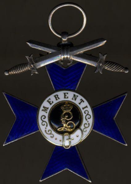Bayern, Militär-Verdienstkreuz mit Schwertern (1. Modell) - Gottfried Merck / München