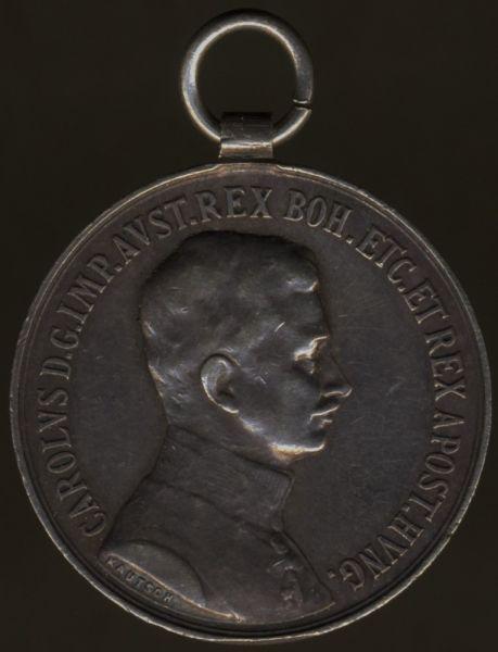 Österreich, Kleine Silberne Tapferkeitsmedaille (Karl I.)