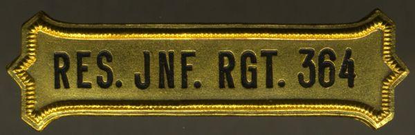 Regimentskreuz-Spange des Reserve-Infanterie-Regiments Nr. 364
