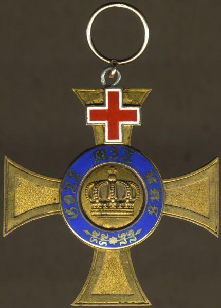 Preußen, Kronenorden 4. Klasse mit Genfer Kreuz