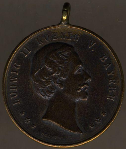 Medaille des Veteranen- & Kriegervereins Jetzendorf