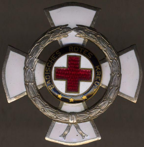 Baden, Ehrenzeichen des Rotes Kreuzes für 25 Jahre verdienstvolle Tätigkeit