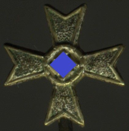 Miniatur - Kriegsverdienstkreuz 1. Klasse 1939 ohne Schwerter