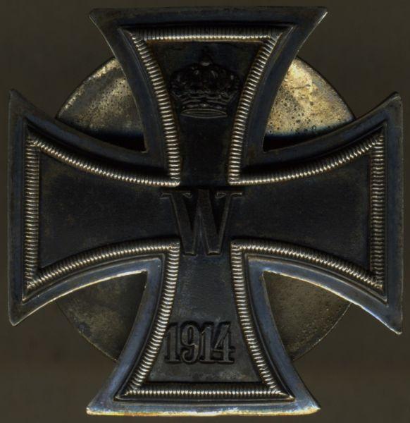 Eisernes Kreuz 1. Klasse 1914 - Schraubscheibe