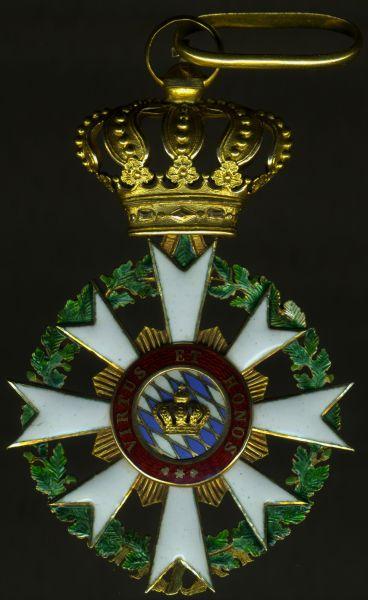 Bayern, Zivil-Verdienstorden der Bayerischen Krone Komturkreuz - Weiß & Co. / München