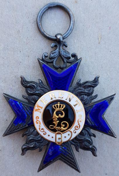 Bayern, Militär-Verdienstorden 4. Klasse des MMJO-Ritters Oberst Theodor Ritter von Herrmann