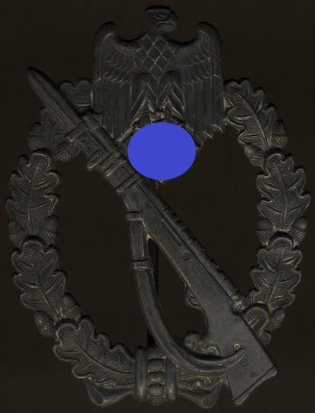 "Infanterie-Sturmabzeichen in Silber - ""Kurland 1944"""